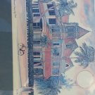 """The Southernmost House Print, Key West R E Kennedy 6"""" x 8"""" Artwork Reproduction"""