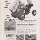 1966 Magazine Ad - Gravely Super Tractor by the Studebaker Corporation