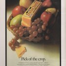 KRAFT CRACKER BARREL. OUR PRIDE. YOUR JOY. PICK OF THE CROP VINTAGE AD