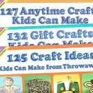 HIGHLIGHTS FUN WITH A PURPOSE 127 ANYTIME, 132 GIFT, 125 CRAFT IDEAS