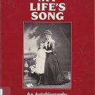 MY LIFE'S SONG AN AUTOBIOGRAPHY HILDA CREVENNA SINGER