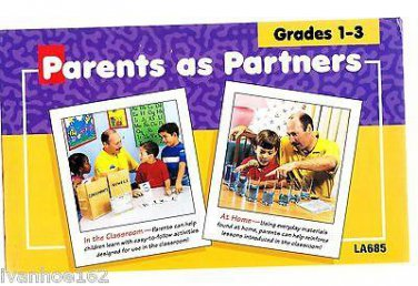 PARENTS AS PARTNERS GRADES 1-3