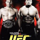 COUTURE VS LESNAR OFFICIAL PROGRAM- NOVEMBER 15, 2008 WORLD HEAVYWEIGHT CHAMPION