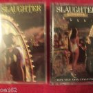 Slaughter -Stick It to Ya And Stick It Live Music Cassette Tape LOT(2)