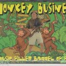MONKEY BUSINESS - A MUSIC FILLED BARREL OF FUN CASSETTE (NEW) STEPHEN FITE