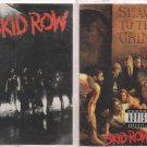 SKID ROW CASSETTE-SELF TITLED & SLAVE TO THE GRIND- METAL