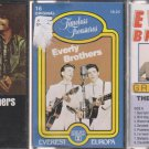 EVERLY BROTHERS CASSETTE LOT (3) GREATEST HITS