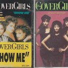 THE COVER GIRLS CASSETTE LOT (2) WE CAN'T GO WRONG & SHOW ME