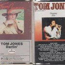 Tom Jones Greatest Hits-HEART TOUCHING SONGS & DARLIN CASSETTE TAPE LOT (2)
