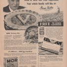 Wilson's Mor Canned Meat Magazine Advertisement/Print Ad