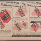 A & P Stores Household Products Vintage Magazine Ad