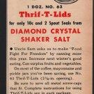 Diamond Crystal Shaker Salt Magazine Advertisement