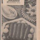 Vintage Skinless Frankfurters Magazine Ad