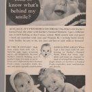 Vintage Gerber Baby Foods Magazine Ad