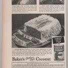 baker's coconut magazine ad