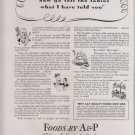 Vintage Magazine Ad for A&P Super Markets for Ann Page Products