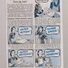 Vintage Super Suds Magazine Advertisement