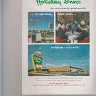 """Vintage Print Ad 1963 for Holiday Inns """"13,000,000 Travelers"""""""