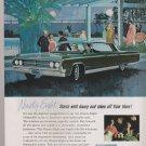 1964 Vintage Oldsmobile Ninety-Eight Magazine Advertisement