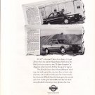 nissan sentra 1992 magazine advertisement