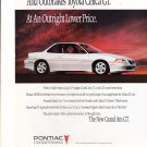 1992 Pontiac Grand Am GT - Outpower - Classic Vintage Advertisement Ad
