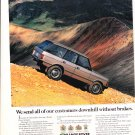 """1992 AD LAND ROVER RANGE ROVER """"DOWNHILL WITHOUT BRAKES"""""""
