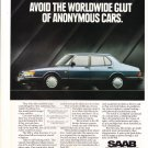 saab 900 series magazine advertisement