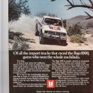 Isuzu 4 x 4 Pickup Magazine Advertisement