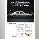1981 Buick Century Magazine Advertisement