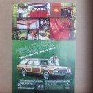 Chrysler LeBaron Town & Country Vintage Magazine Advertisement