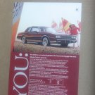 1981 Monte Carlo Vintage Magazine Advertisement