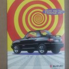 What are you staring at?  Suzuki Vintage Magazine Advertisement