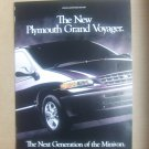 Vintage Plymouth Grand Voyager Magazine Advertisement