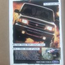 Vintage Ford Ranger 4 x 4 Magazine Advertisement