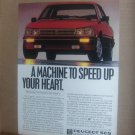 Peugeot 505 Vintage Magazine Advertisement