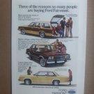 Vintage Ford Fairmont Advertisement