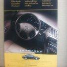Olds INtrigue  - Original Car Advertisement Print Ad