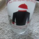 Travers Stakes Saratoga 1990 Winner Glass Tumbler Rhythm