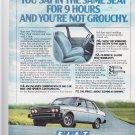 Vintage Fiat Magazine Advertisement