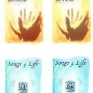 SONGS 4 LIFE LIFT YOUR SPIRIT (2) & ONGS 4 LIFE EMBRACE HIS GRACE (2) AUDIO
