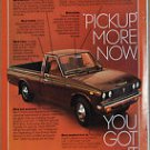 Toyota Sr-5 Pickup Magazine Advertisement