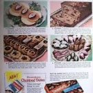 Dromedary Dates Cookies Bread Confections Fruit Cake Ad