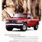 1997 Mazda B-Series Pickup truck - red - Classic Vintage Advertisement Ad