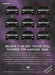 Hyundai Clever 10 Year Guarantee Print Ad 1999