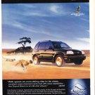 Suzuki Magazine Advertisement
