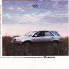 Lexus rx 300 magazine advertisement