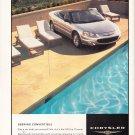 Chrysler Sebring Convertible Magazine Advertisement