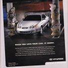 Hyundai Tiburon Magazine Advertisement