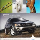 Subaru Outback Magazine Advertisement Think, Feel, Drive