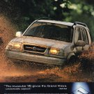 Suzuki Grand Vitara Magazine Advertisement Mud Baths